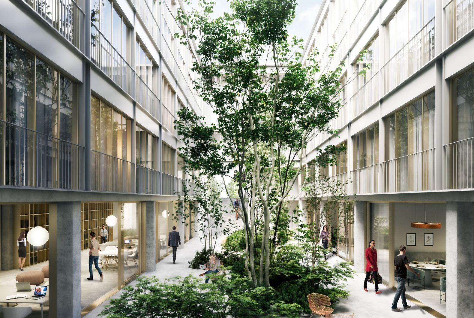 Imprimerie De L Ouest Parisien transformation d'une imprimerie en hôtel • hardel le bihan