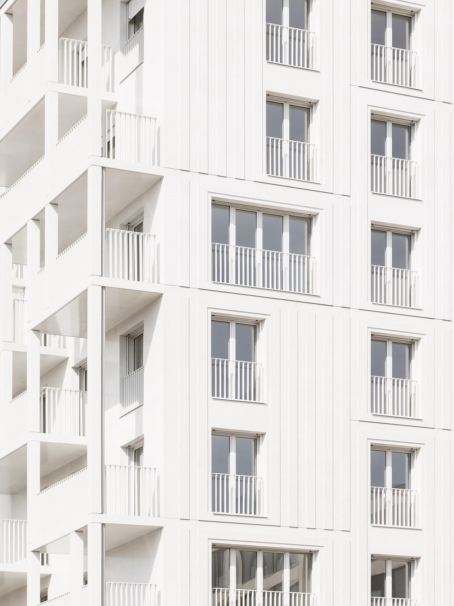 logements sociaux croisset paris 18 hardel le bihan architectes. Black Bedroom Furniture Sets. Home Design Ideas