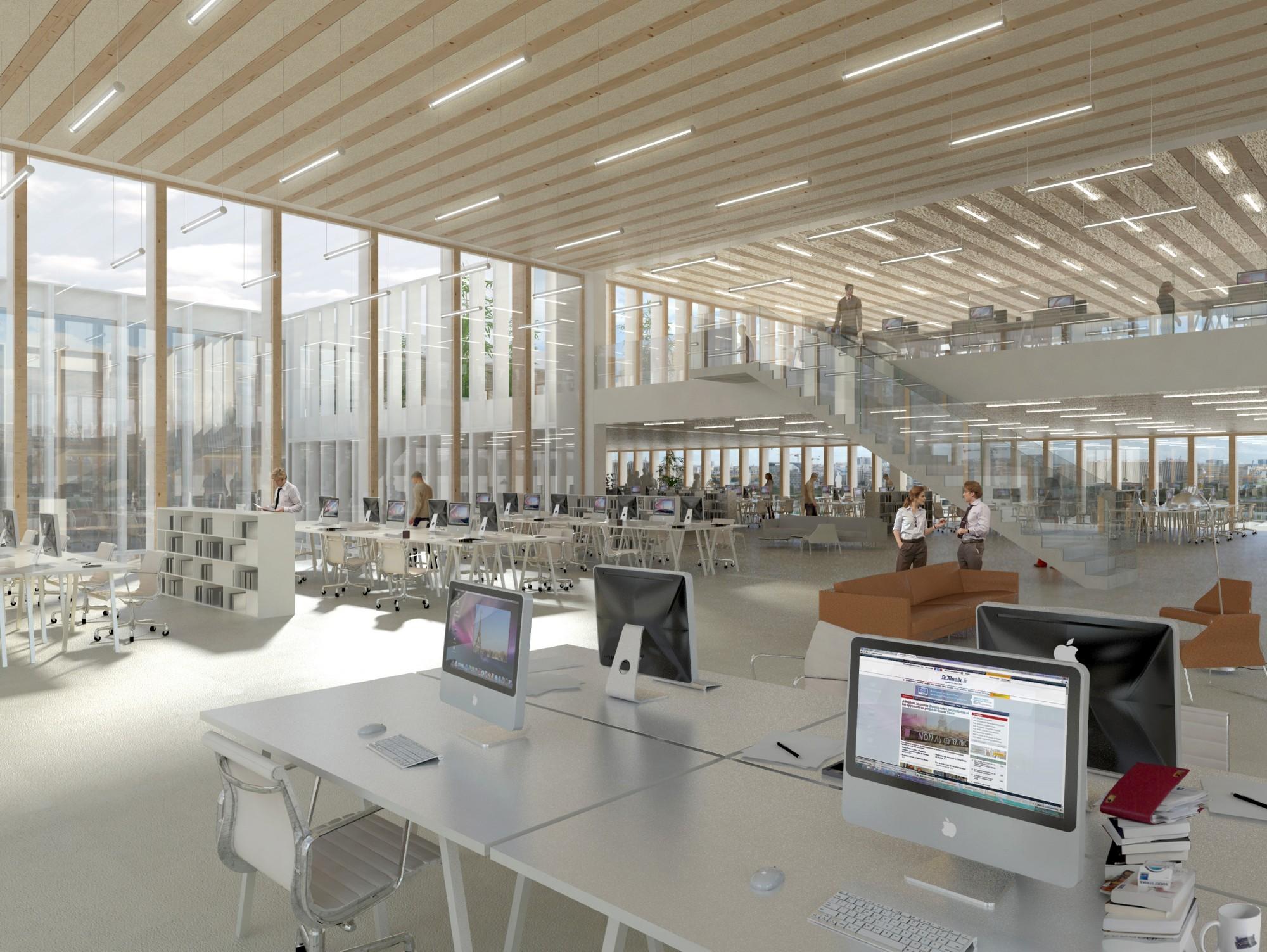 Le monde headquarters paris u2022 hardel le bihan architectes